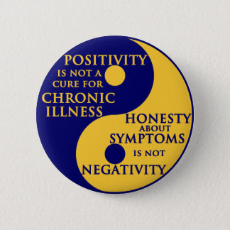 Chronic Illness Round Badge