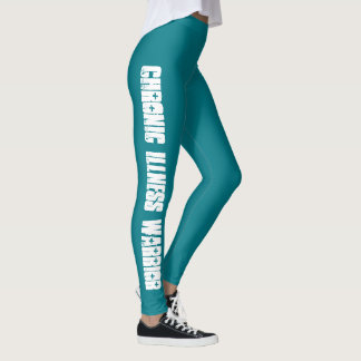 Chronic Illness Warrior Leggings