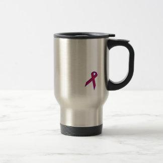 Chronic Migraine Awareness Ribbon - Travel Mug