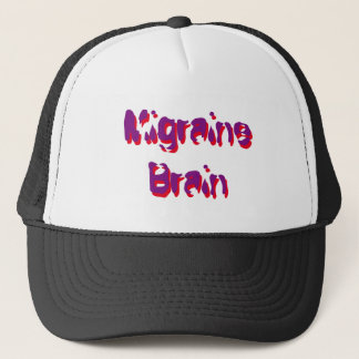 Chronic Migraine Brain - Hat