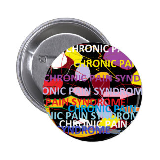Chronic Pain Syndrome 6 Cm Round Badge