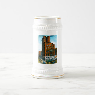 Chronicle Building Beer Steins