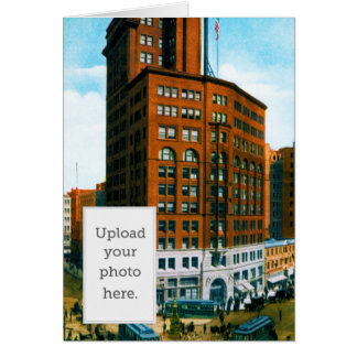 Chronicle Building Greeting Card
