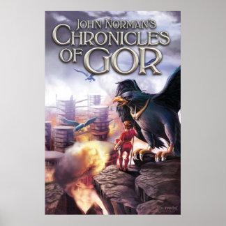 Chronicles of Gor Poster - Tarnsman of Gor
