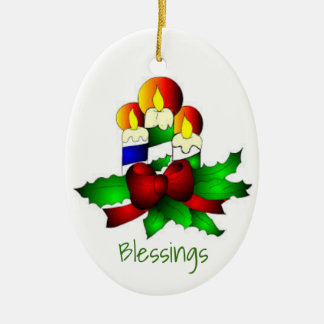 Chrstmass Ornaments: Candles Christmas Ornament