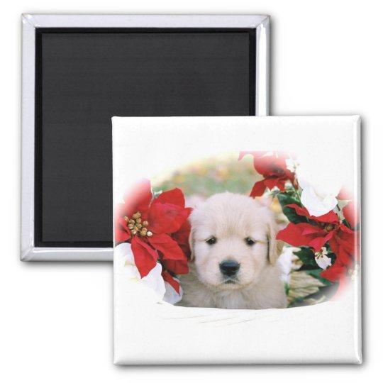 Chrtistmas Puppy Door Magnet