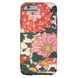 Chrysanthemum and horse-fly, Katsushika Hokusai Tough iPhone 6 Case