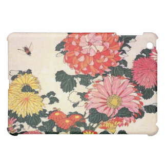 Chrysanthemum and horse-fly, Katsushika Hokusai Cover For The iPad Mini