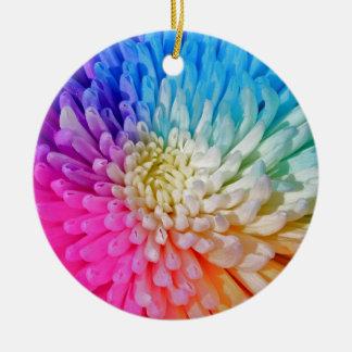 Chrysanthemum Artificial Colour Ornament
