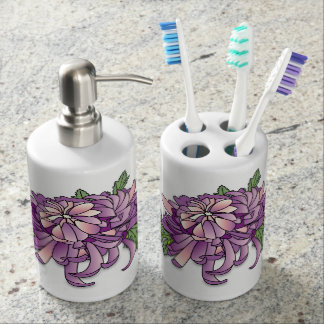 Chrysanthemum Bathroom Set