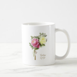 Chrysanthemum Birthday Coffee Mug