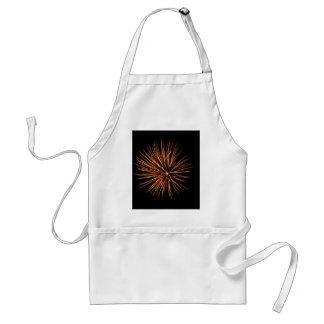 Chrysanthemum Blast Apron