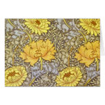 chrysanthemum by William Morris