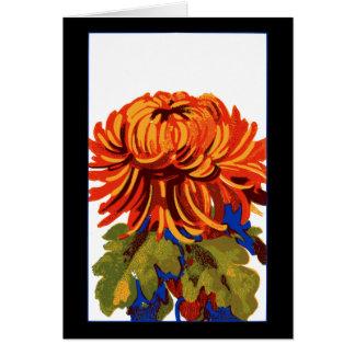 Chrysanthemum Card