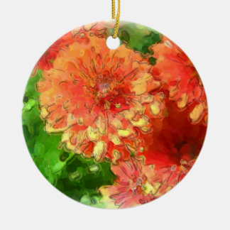 Chrysanthemum Christmas Ornament