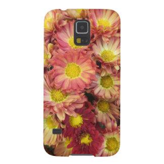 Chrysanthemum Cluster Garden Yellow Pink Galaxy S5 Case