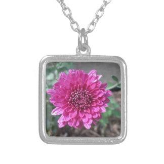Chrysanthemum Dark Red Flower Jewelry