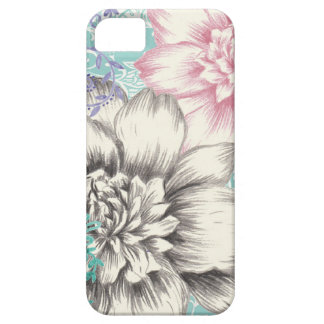 chrysanthemum floral design barely there iPhone 5 case