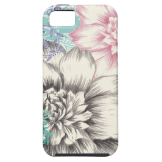 chrysanthemum floral design iPhone 5 case