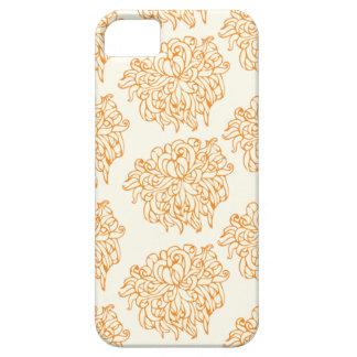Chrysanthemum Floral Pattern iPhone 5/5S Cases