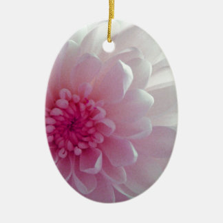 Chrysanthemum flow christmas ornament