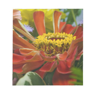 Chrysanthemum flower notepad