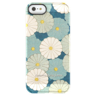 Chrysanthemum Flowers Personalized Permafrost® iPhone SE/5/5s Case