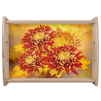 Chrysanthemum Glory - Serving Tray