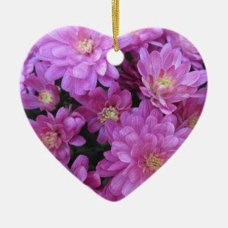 Chrysanthemum Group Plant Purple Christmas Ornaments