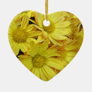 Chrysanthemum Group Plant Yellow Ornament