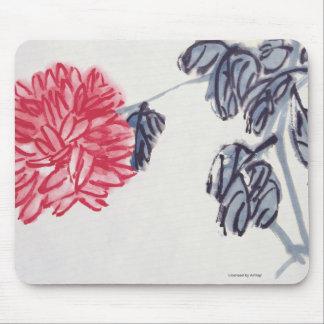 Chrysanthemum Mouse Mat