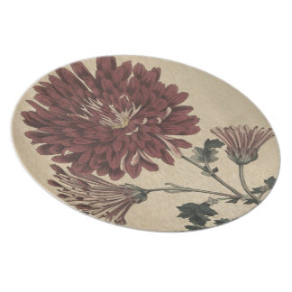Chrysanthemum Party Plates