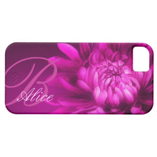 Chrysanthemum personalized iphone case