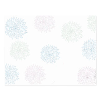 Chrysanthemum Print Postcard