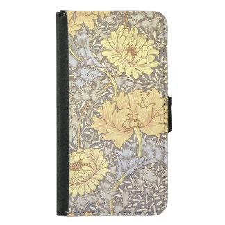 Chrysanthemum Samsung Galaxy S5 Wallet Case