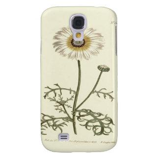 Chrysanthemum Tricolor Yellow Illustration Galaxy S4 Case