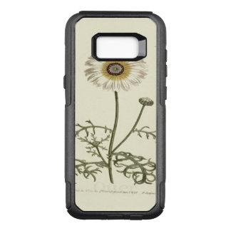 Chrysanthemum Tricolor Yellow Illustration OtterBox Commuter Samsung Galaxy S8+ Case