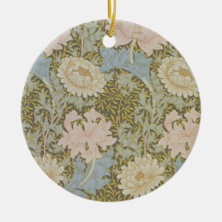'Chrysanthemum' wallpaper, 1876 (wallpaper) Christmas Ornament