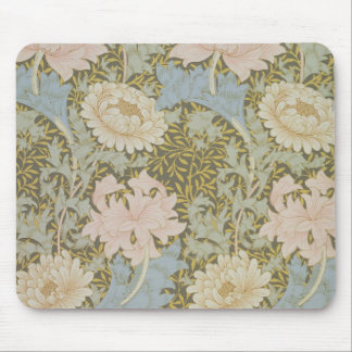 'Chrysanthemum' wallpaper, 1876 (wallpaper) Mouse Mat