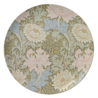 'Chrysanthemum' wallpaper, 1876 (wallpaper) Plate