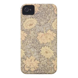 'Chrysanthemum' wallpaper design, 1876 Case-Mate iPhone 4 Case
