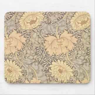 'Chrysanthemum' wallpaper design, 1876 Mouse Mat