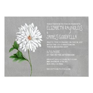 Chrysanthemum Wedding Invitations