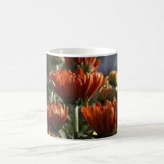 Chrysanthemums Basic White Mug