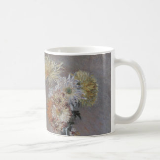 Chrysanthemums by Gustave Caillebotte Coffee Mug