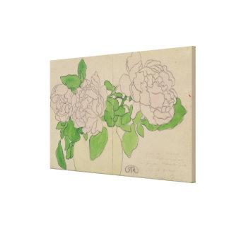 Chrysanthemums, c.1900 canvas print