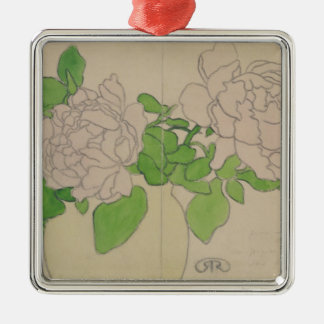Chrysanthemums, c.1900 christmas ornament