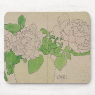 Chrysanthemums, c.1900 mouse mat