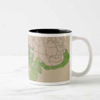 Chrysanthemums, c.1900 Two-Tone coffee mug