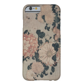 Chrysanthemums (colour woodblock) barely there iPhone 6 case
